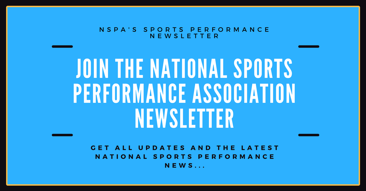 Mspc Live Certification National Sports Performance Association