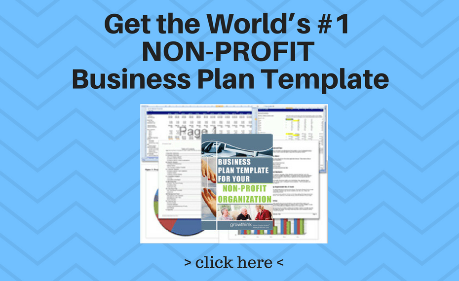 Non Profit Business Plan Template Growthink